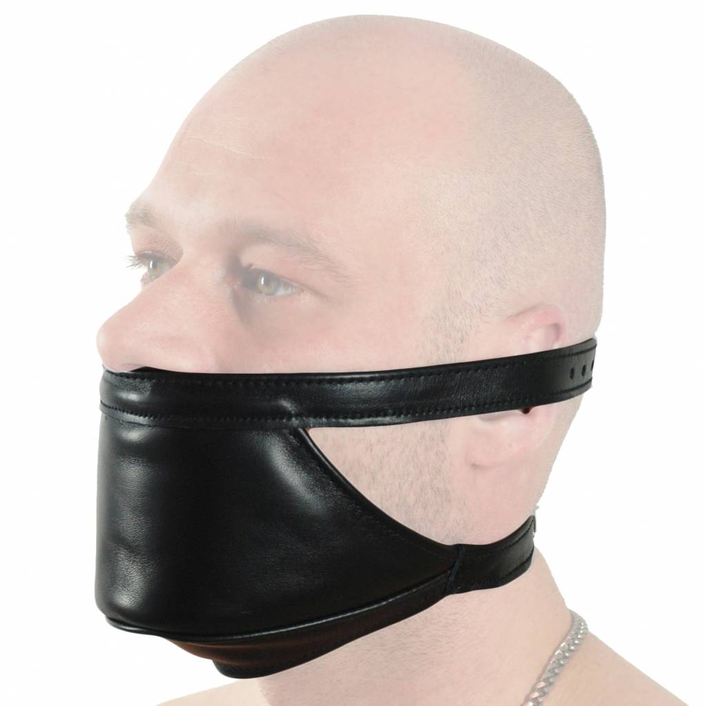 RoB Leather Mouth and Chin gag