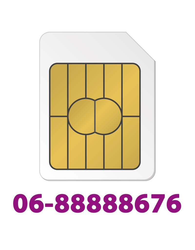 Sim Only Gold 0688888676