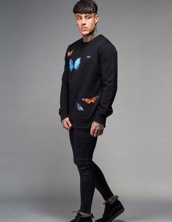 Devote London - Butterfly sweater