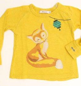 Hilde en Co (FNG) Gele longsleeve T - Shirt, Hilde en Co - 62