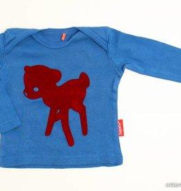 Tapete Blauwe longsleeve T - Shirt, Tapete - 50/56