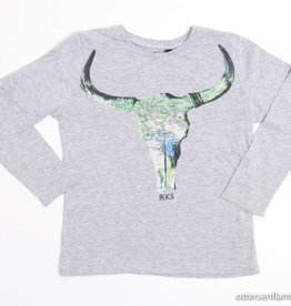 IKKS Grijze longsleeve T - Shirt, IKKS - 104