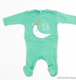 Filou & Friends Groene pyjama, Petit Filou - 56