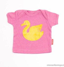 Tapete Roze T - Shirt zwaan, Tapete - 50/56