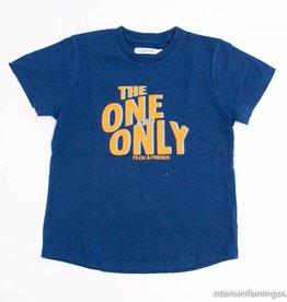 Filou & Friends Blauwe T - Shirt, Filou en Friends - 134