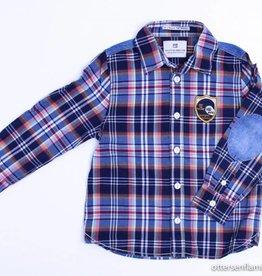 Scotch Shrunk Geruit hemd, Scotch Shrunk - 104