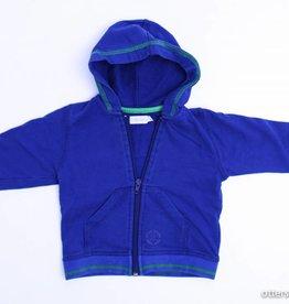 Filou & Friends Blauw sweatervestje, Petit Filou - 86