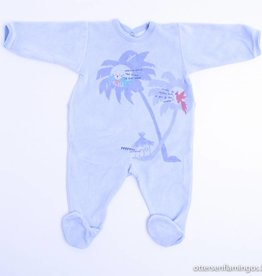 Petit Bateau  Lichtblauw pyjama/kruippakje, Petit Bateau - 68