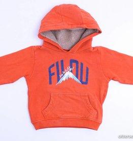 Filou & Friends Oranje sweater met kap, Filou en Friends - 92