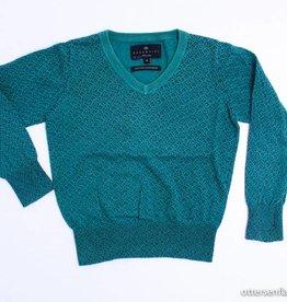 Essentiel Groene trui V - hals, Essentiel - 104
