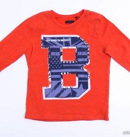 IKKS Rode longsleeve T - Shirt, IKKS - 98