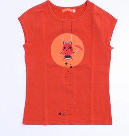 Fred & Ginger (FNG) Oranje T - Shirt, Fred en Ginger - 140