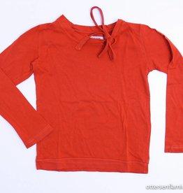 Maan Rode longsleeve T - Shirt, Maan - 104