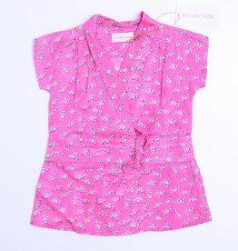 Simple Kids Roze kleedje bloemetjes, Simple Kids - 80