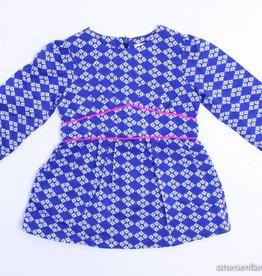 Simple Kids Longsleeve kleedje blauw, Simple Kids - 80