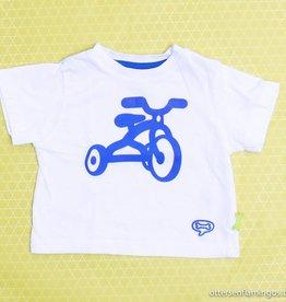 Stones en Bones Witte T - Shirt fiets, Stones en Bones - 74