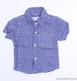Simple Kids Blauw hemdje, Simple Kids - 80