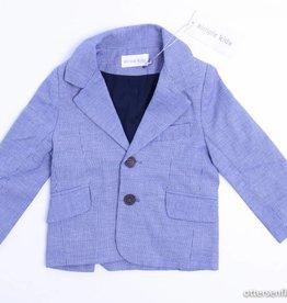Simple Kids Blauw blazervestje, Simple Kids - 80