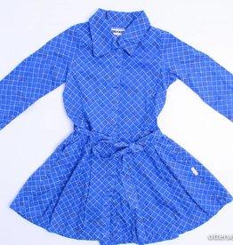 Kik Kid Blauw kleedje met kraagje, Kik Kid - 110