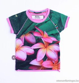 4 Funky Flavours T - Shirt bloemen, 4Funky Flavours - 86/92