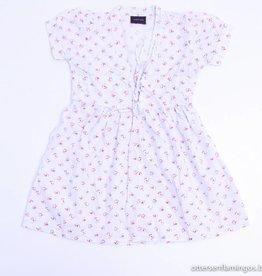 Simple Kids Wit kleedje roze bloemetjes, Simple Kids - 86