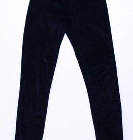 Danefae Zwarte velours (jogging)broek, Danefae - 134