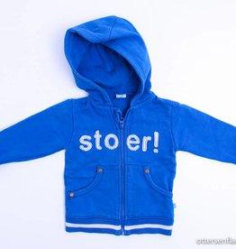 lief! Blauw sweatervestje, Lief! - 80