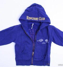 Bellerose Blauwe sweatercardigan, Bellerose - 104