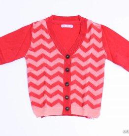 CKS (FNG) Rood/roze cardigan, CKS - 68