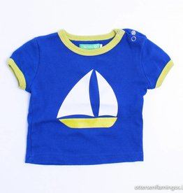 Lily Balou Blauwe T - Shirt zeilboot, Lily Balou - 62