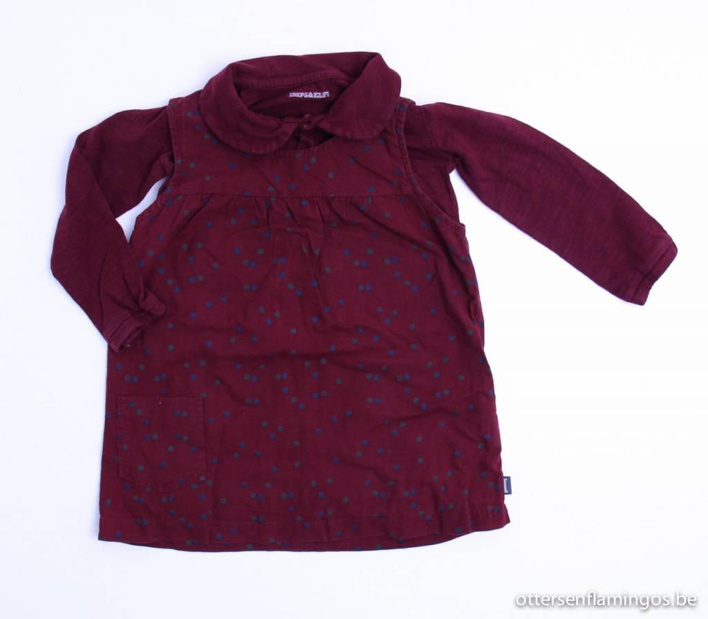 Imps & Elfs art.nr. MT013 Longsleeve kleedje, Imps & Elfs - 86