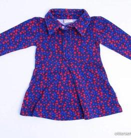 Baba Blauw kleedje bolletjes, Ba*Ba - 68