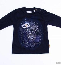 IKKS Zwarte longsleeve T - Shirt, IKKS - 68