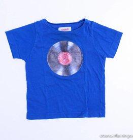 Maan Blauwe T - Shirt, Maan - 86