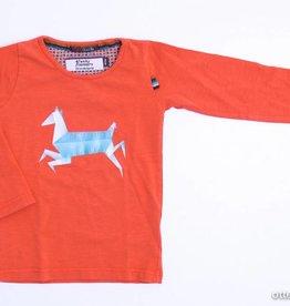 4 Funky Flavours Oranje longsleeve T - Shirt, 4FF - 98/104