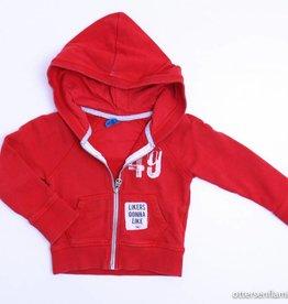 CKS (FNG) Rood sweatervestje, CKS - 92