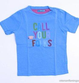 Borz Blauwe T - Shirt, Borz - 134/140