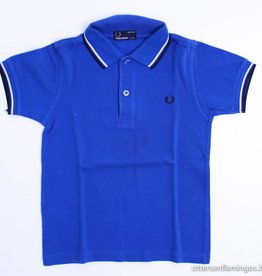 Fred Perry Blauwe polo, Fred Perry - 110/116