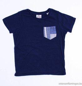Scotch Shrunk Blauwe T - Shirt, Scotch Shrunk - 104