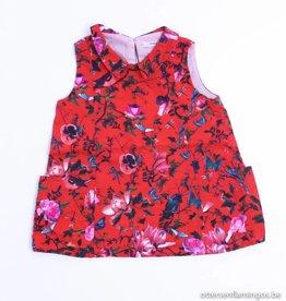 Hilde en Co (FNG) Rood kleedje bloemen, Hilde en Co - 74