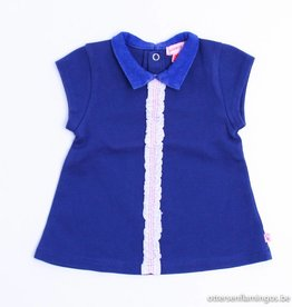Kiekeboe (FNG) Blauw kleedje kraagje, Kiekeboe - 56