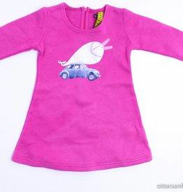 Little History Roze sweaterkleedje, Little History - 98