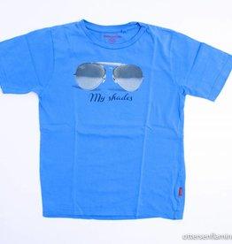 Stones en Bones Blauwe T - Shirt, Stones en Bones - 140