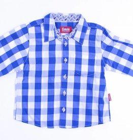 Limon (FNG) Blauw geruit hemd, Limon - 86