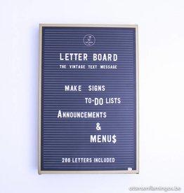 Jay Vintage letterboard, Jay