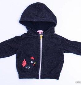 Kiekeboe (FNG) Donkergrijs/zwart vestje, Kiekeboe - 80