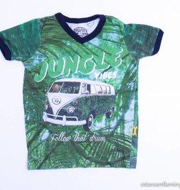 Stones en Bones Groene T - Shirt, Stones en Bones - 92