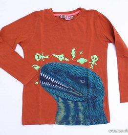 Anne Kurris Oranje longsleeve T - Shirt, Anne Kurris - 116