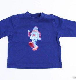 Filou & Friends Longsleeve T - Shirt robot, Petit Filou - 62