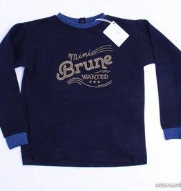 Blune Blauwe sweater 'mini brune', Blune - 128